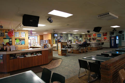 Inside Leisure Lanes